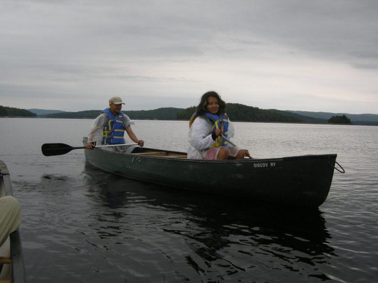 Canot-camping sur le réservoir Kiamika – août 2010