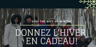 Donner l'hiver en cadeau 2018