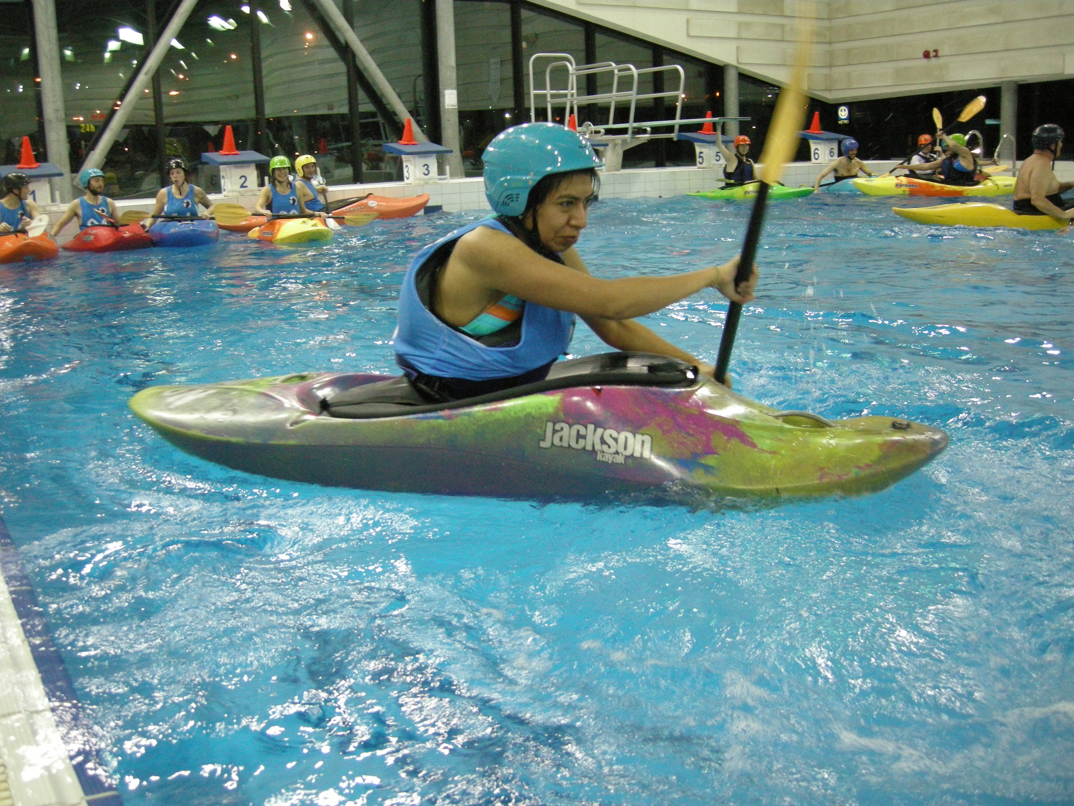 Introduction to kayaking in a pool - April 14th