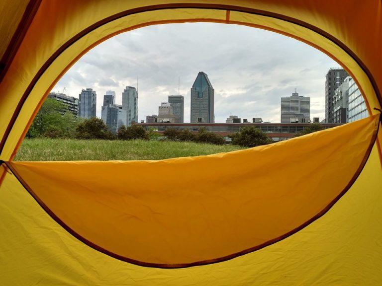 Essayez le camping cet été!