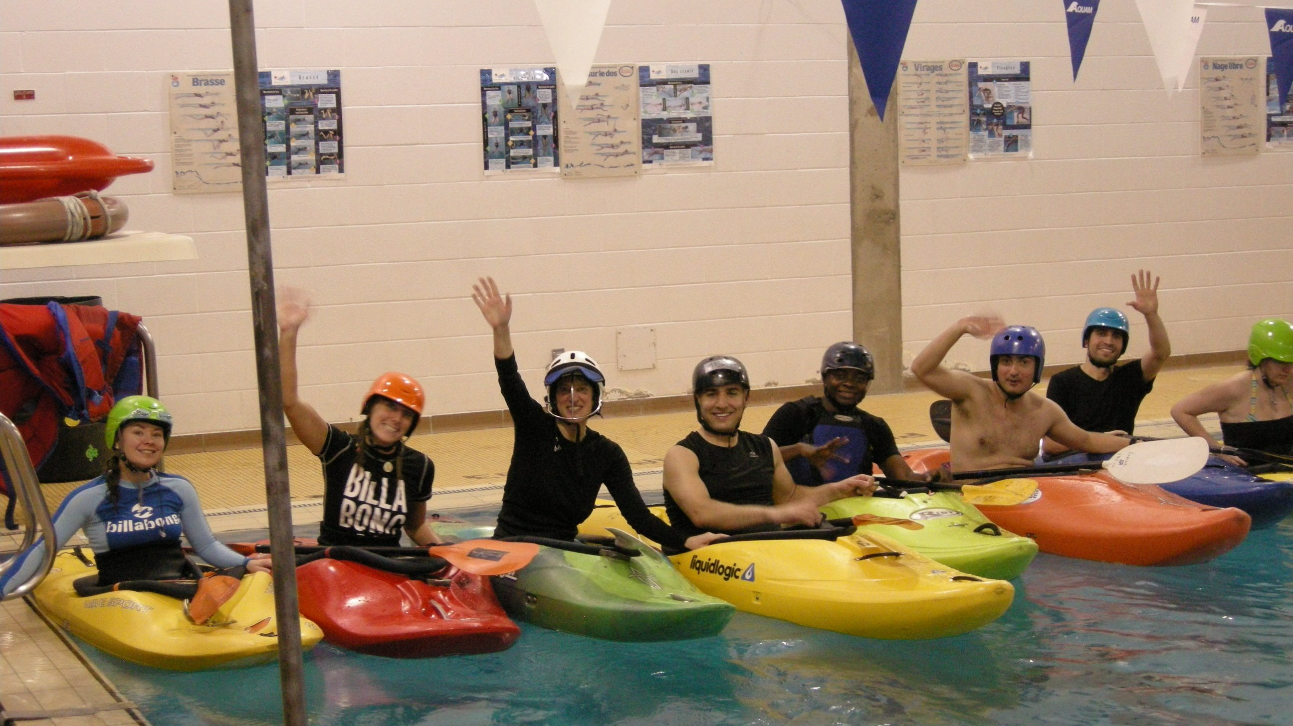 Try Kayaking in a Heated Pool -- Nov. 16th!