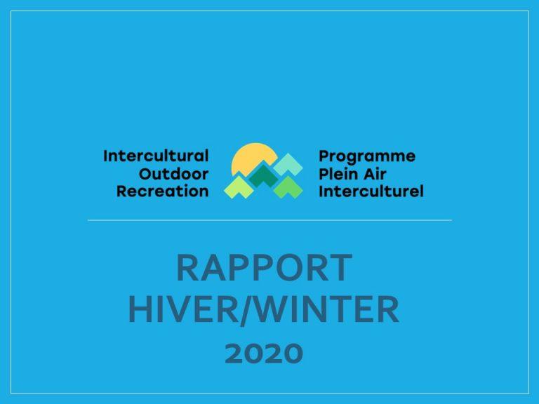 Winter 2020 Report