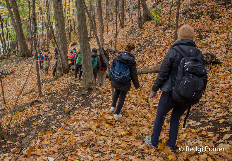 Montreal's Best Long Urban Hike and FR/EN Oct. 17th
