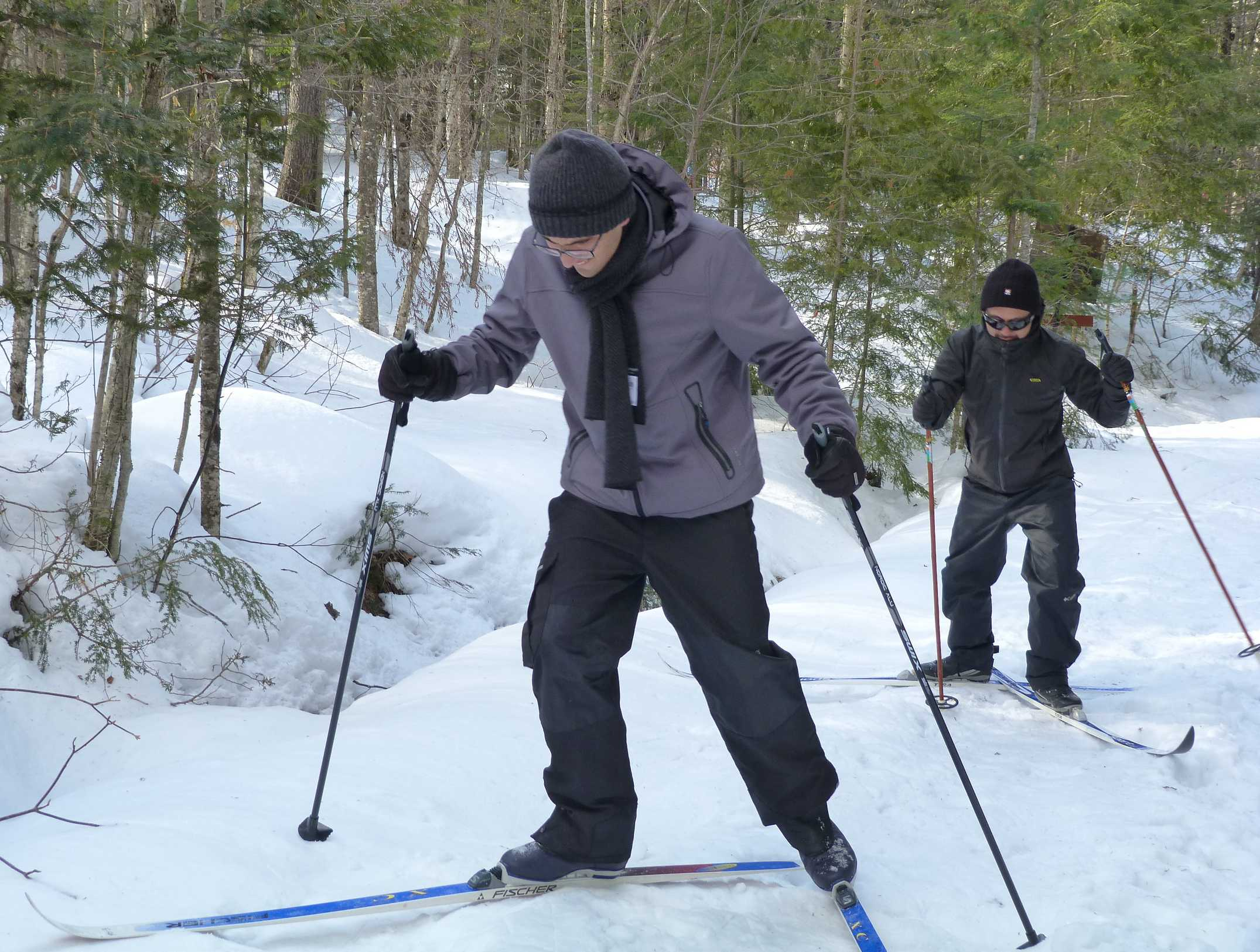 Beginner Cross-Country Ski Courses in Person and Online!